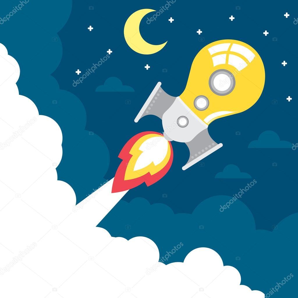 idea rocket launch