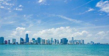 Miami skyline at daytime