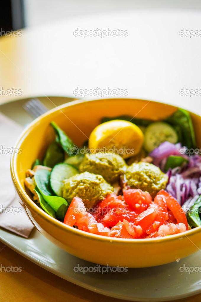 protein sallad