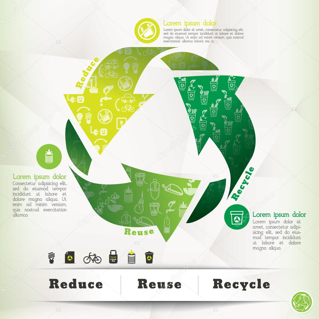 Recycle Concept Graphic Element
