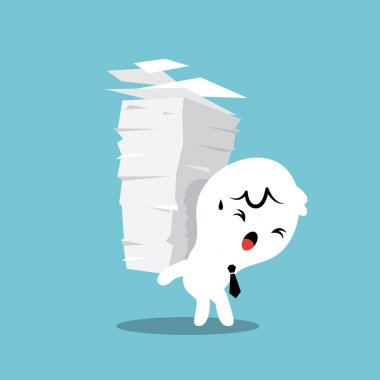 Paper Stack Work Load