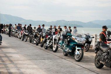 RANONG,THAILAND - NOVEMBER 29 - 30:Participants in 30th Ranong B