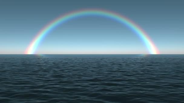 oceán dawn duhová scéna opakování