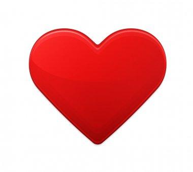 Red heart stock vector