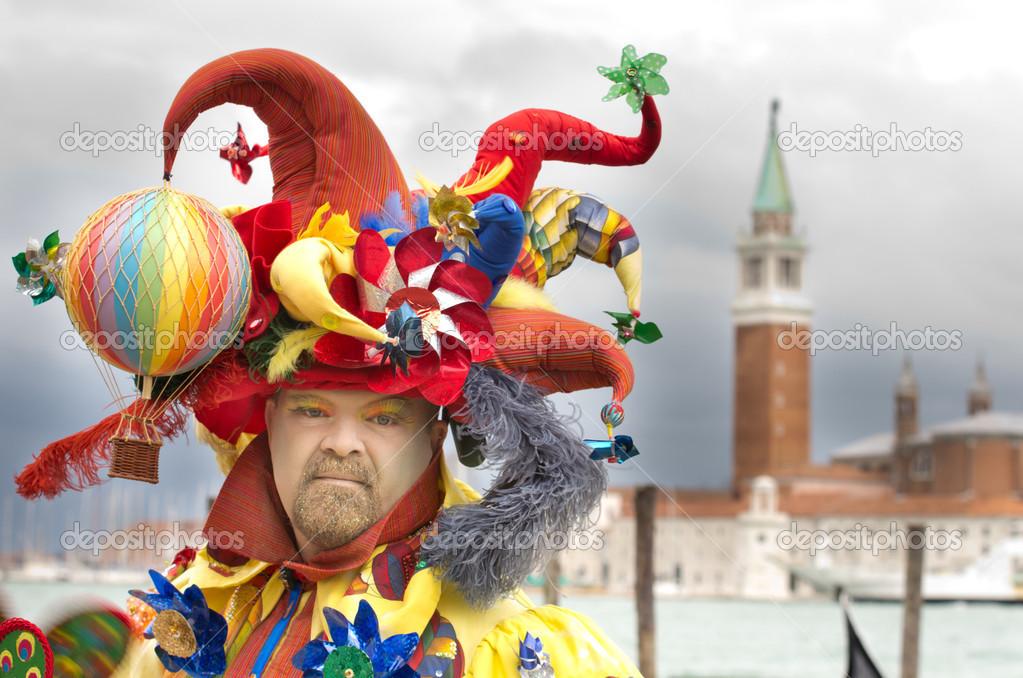 Фото: костюм клоунессы. Костюм клоуна – Стоковое ... - photo#21