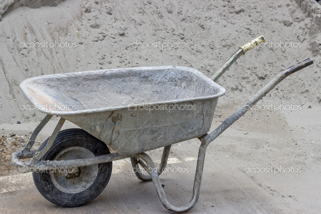 Image result for concrete wheelbarrow