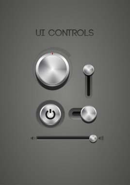 Metallic controls and tuners