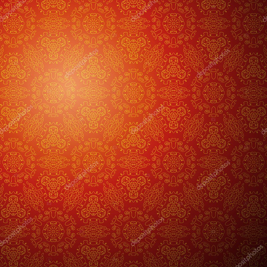 Chinese pattern background. Seamless wallpaper