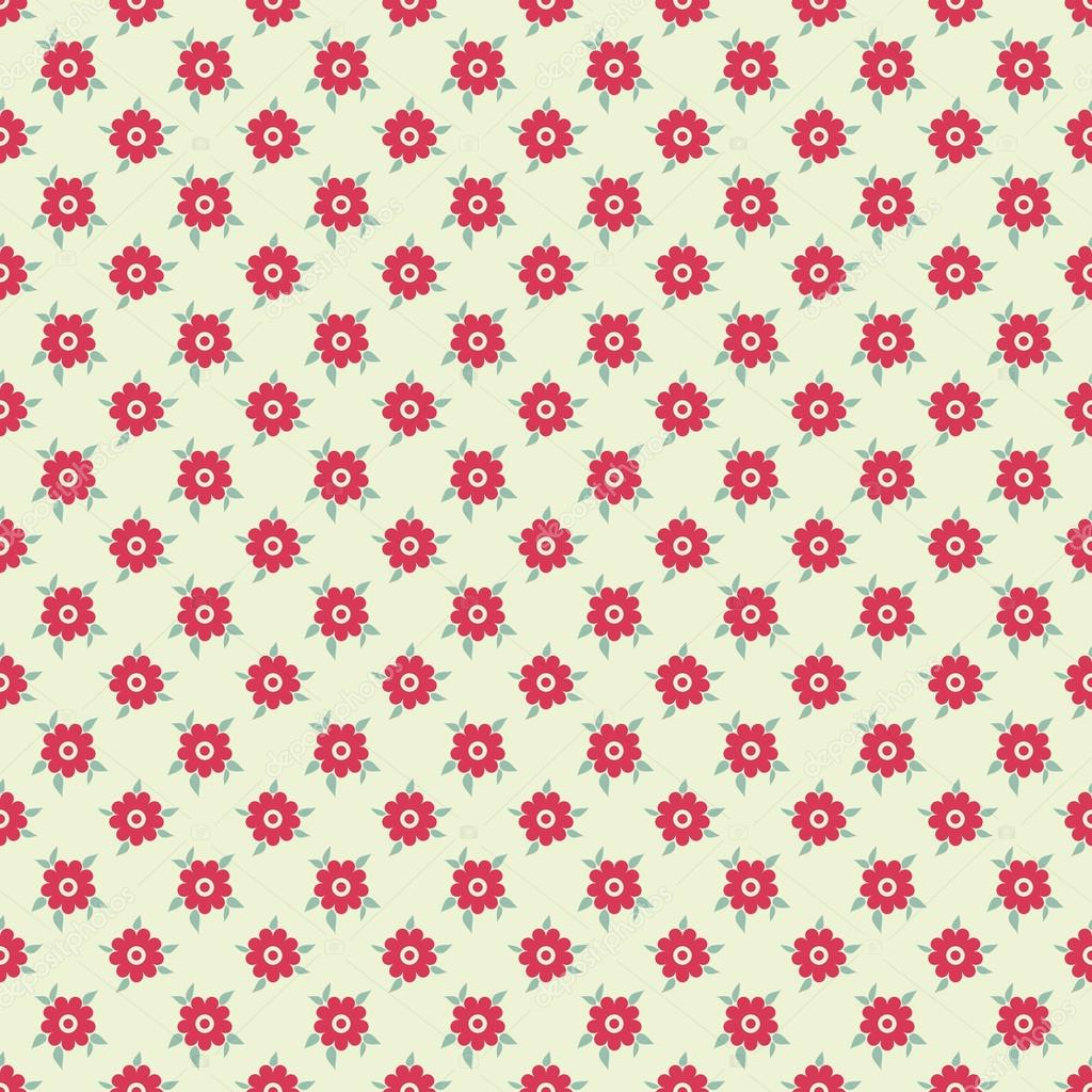 Elegante Romantische Vektor Nahtlose Muster Fliesen Retro Rosa