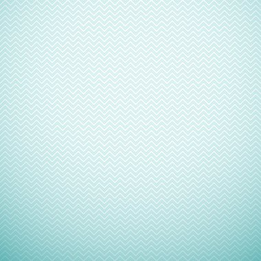 Zigzag seamless pattern. Vector illustration. Aqua, blue