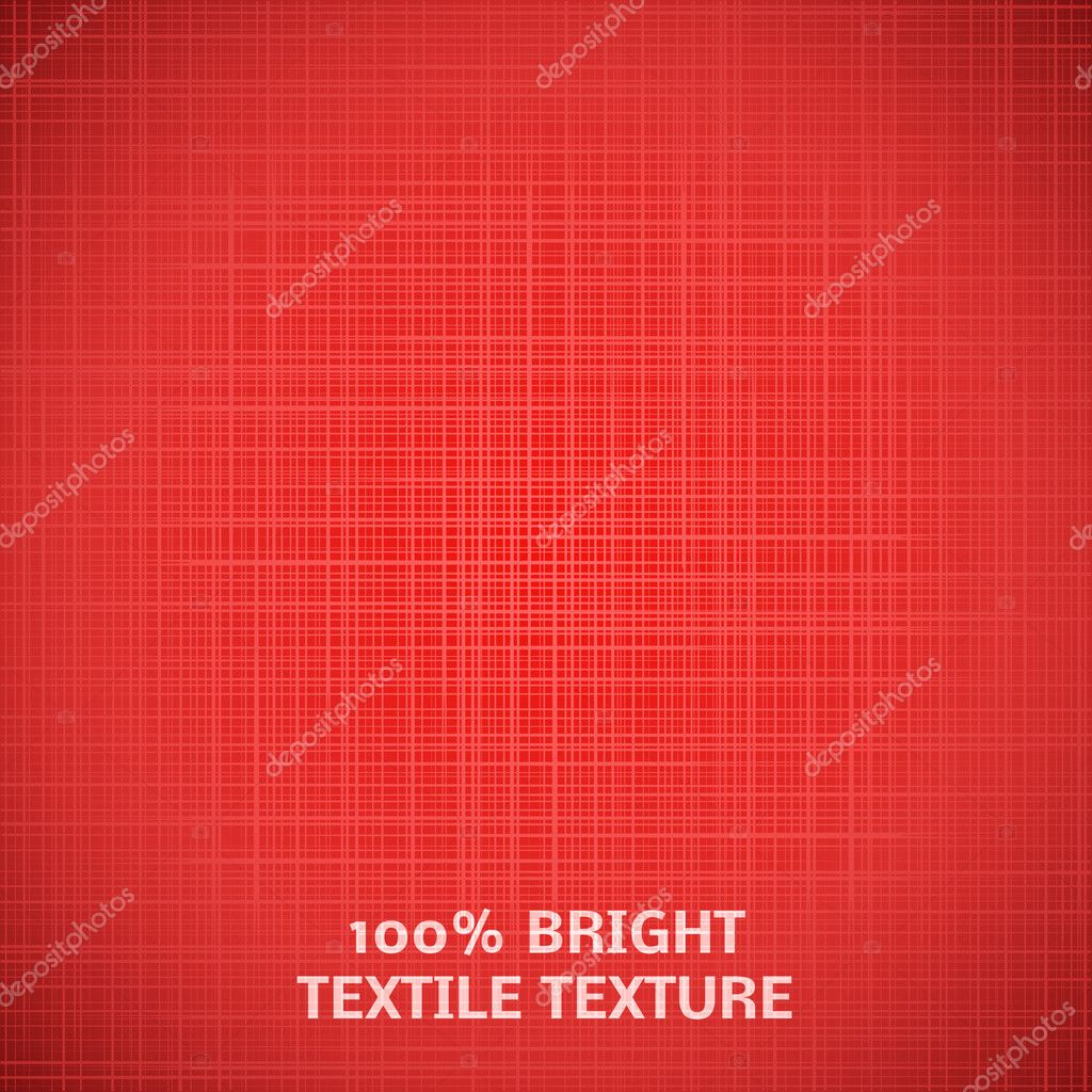 Red fabric texture. Vector illustration for your elegant design