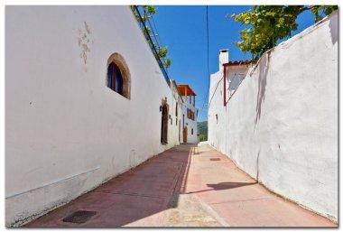 Charming streets of greek islands. Crete