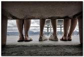 menschliche Füße