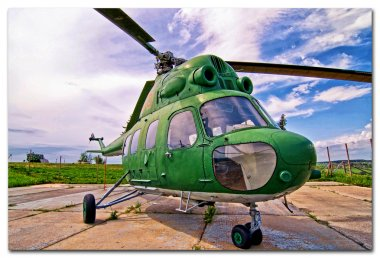 Belorussian army helicopter