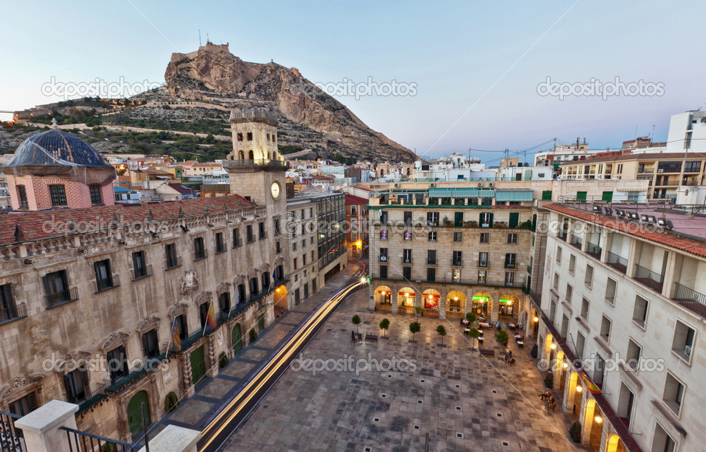 Beautiful architecture in alicante spain stock photo - Stock uno alicante ...