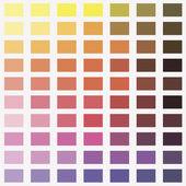 Photo Make-up, colorful eye shadows palette