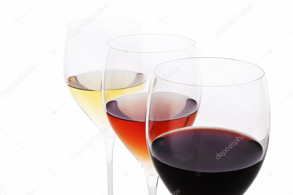 Three Colors Of Wine Red Rose And White Stock Photo C Eskymaks