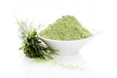 Barley grass. Superfood.