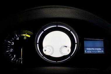 Car dashboard digital