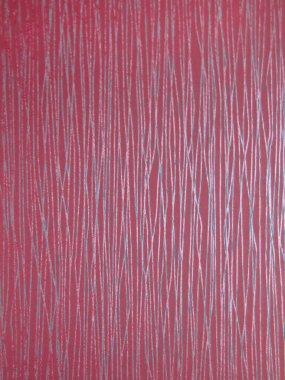 pink vinyl wall
