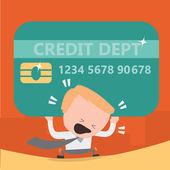 kreditní karta dluh problémy podnikání