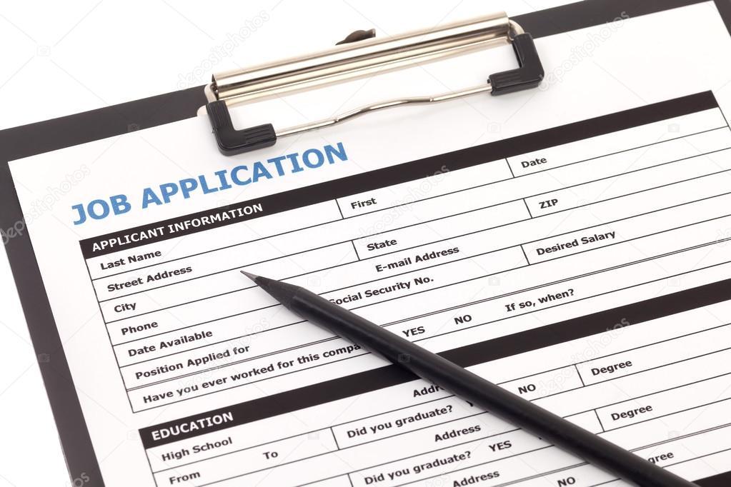 job application form stock photo phasinphoto 42386097
