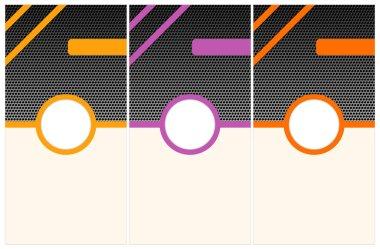Vector pattern leaflets