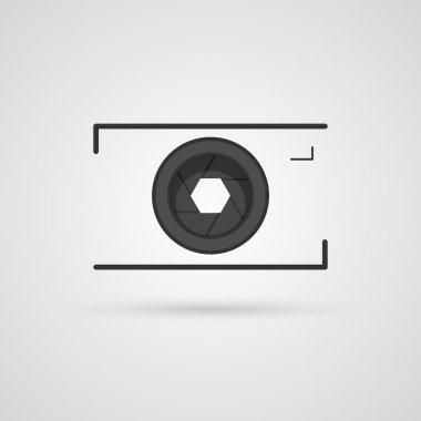 Vector camera icon.