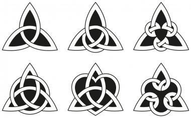 Celtic Triangle Knots