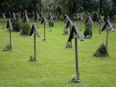 Wooden Grave Crosses