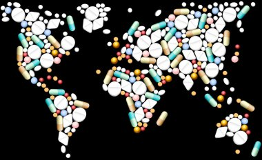 Tablets World Map