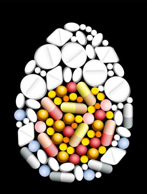 Tablets Pills Egg
