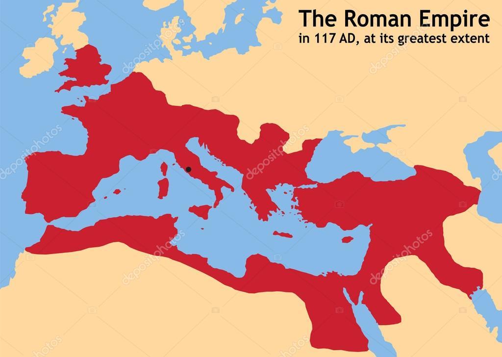 Nieuw Kaart Wallpaper: Kaart Romeinse Rijk UQ-89