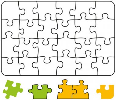 Jigsaw Puzzle Rectangle