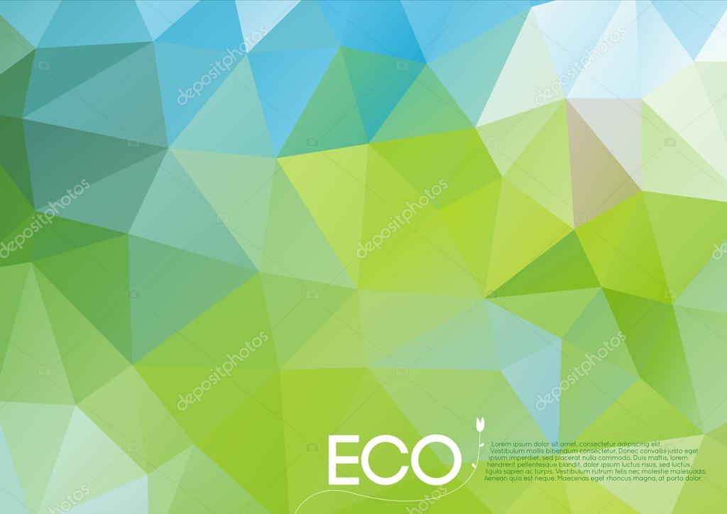 Abstract eco concept background