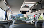 Fotografie leere Bus interior