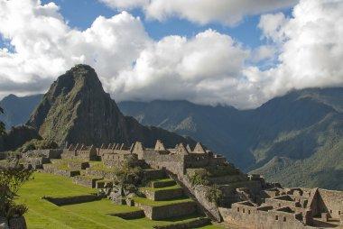 Inca lost city Machu Picchu.