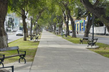 Avenida Arequipa in Lima, the capital of Peru.