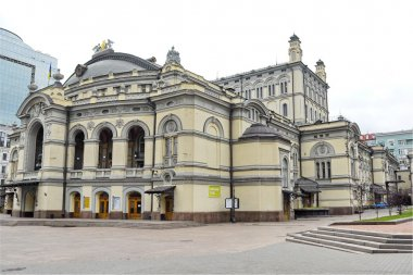 Kiev Opera House in Kiev city, Ukraine.