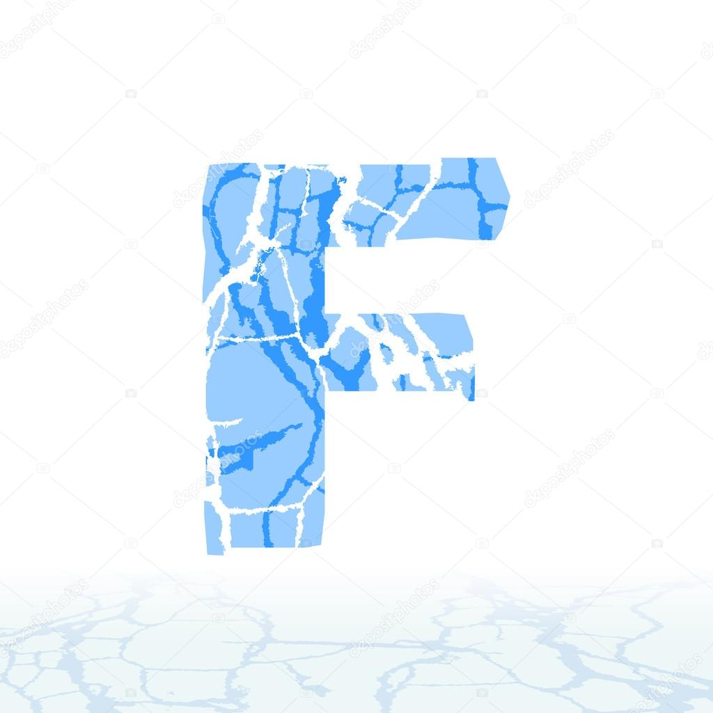 Cracked ice alphabet letters numbers and symbols of the snow letters numbers and symbols of the snow stock vector buycottarizona Images
