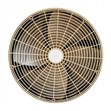 Old fan in refrigerator
