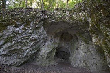 Huge cave entrance