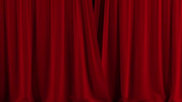 piros színházi függöny