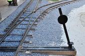 Fotografie Bahnknoten und -schalter