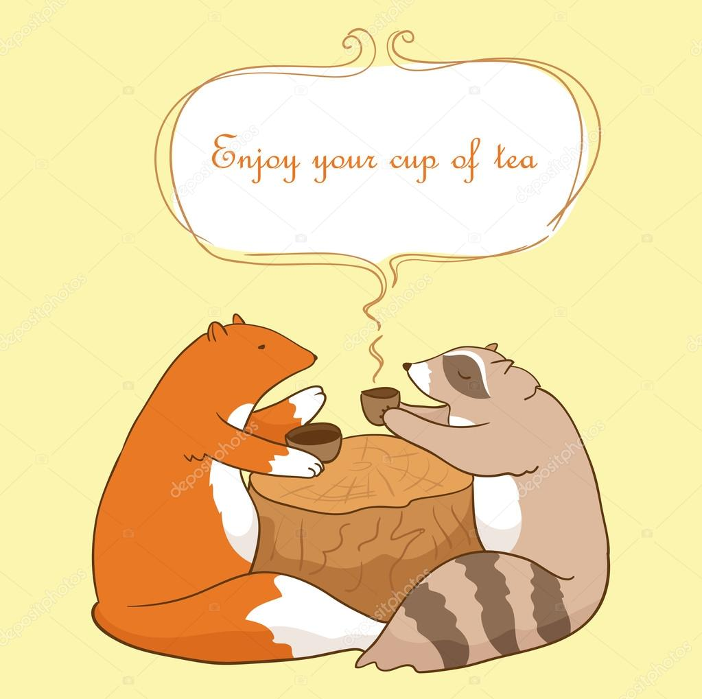 https://st.depositphotos.com/2479709/4926/v/950/depositphotos_49268625-stock-illustration-fox-and-raccoon-with-cup.jpg