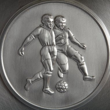 Bas-relief Footballers