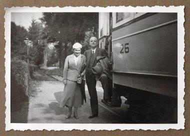 Antique photo from family album