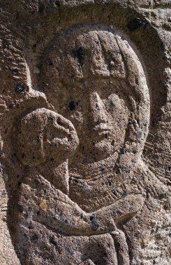 Bas-relief Virgin Mary