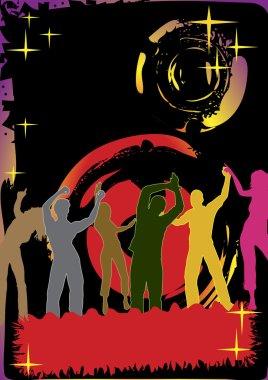 Dance club poster