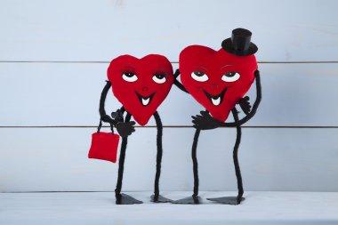 Valentine's Day. In love heart.